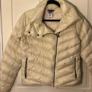 New Without Tags: Patagonia White Down Jacket (S)